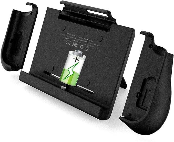 BigBlue 10000mAh Nintendo Switch cargador de batería con un par de ...