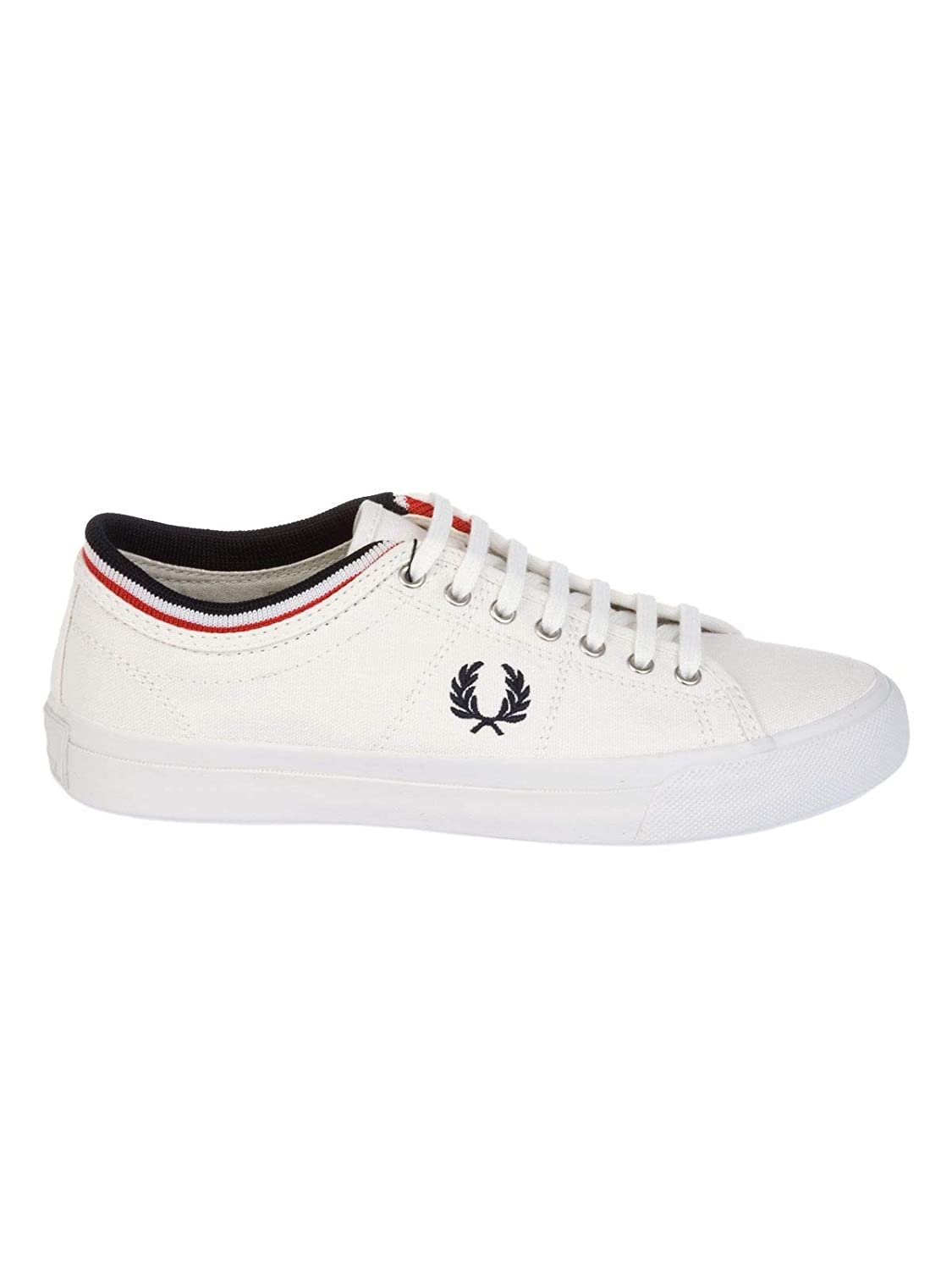 Fred Perry Herren Fpb5210u14100 Weiss Stoff Sneakers: Amazon