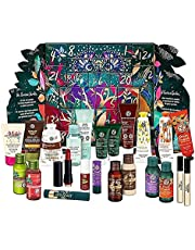 Yves Rocher Deluxe Mysterious Advent Calendar 24 days Beauty Products 2021 - Body Care, Skin Care, Hair Care, Make-up & Fragrance, Holiday gift-set with a reusable/refillable box for Women, Ladies, Mothers & Daughters (245 x 125 x 255 mm 650 gr)