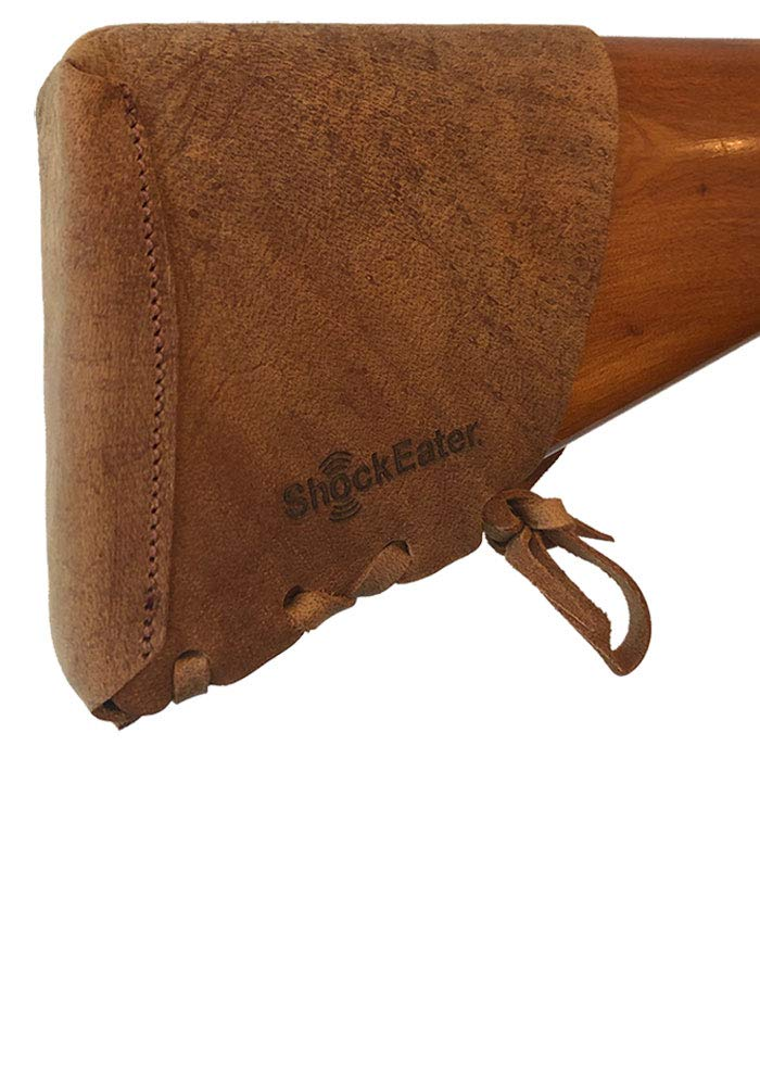 ShockEater Recoil Pad Kit, Leather, Slip-on/Adjustable by ShockEater