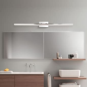 Exceptionnel Mirrea 48in Modern LED Vanity Light For Bathroom Lighting Dimmable 46w Warm  White