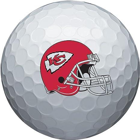 Wilson NFL Kansas City Chiefs - Pelota de Golf, 6 Unidades: Amazon ...