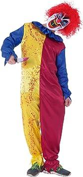Rubies- Disfraz Payaso Psycho Inf, Multicolor, L (8-10 años) (S8366 ...