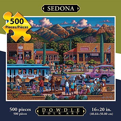 Jigsaw Puzzle - Sedona 500 Pc By Dowdle Folk Art
