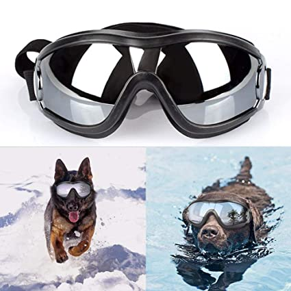 2a97da04b6d7 Dog Accessories - Cool Dog Sunglasses Uv Protection Windproof Goggles Pet  Eye Wear Medium Large Swimming. Roll over image to zoom in