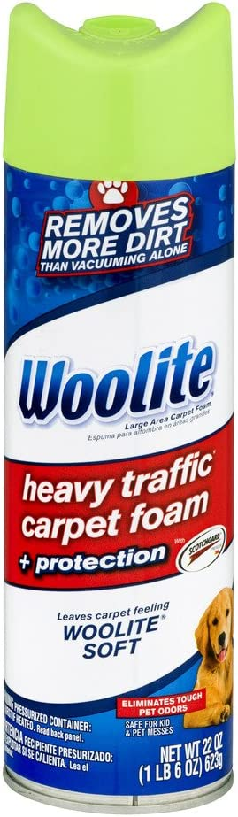 Amazon Com Woolite Heavy Traffic Carpet And Upholstery Cleaner 0820 1 Home Kitchen