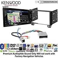 Volunteer Audio Kenwood Excelon DNX694S Double Din Radio Install Kit with GPS Navigation System Android Auto Apple CarPlay Fits 2003-2006 Expedition, 2004-2006 Navigator