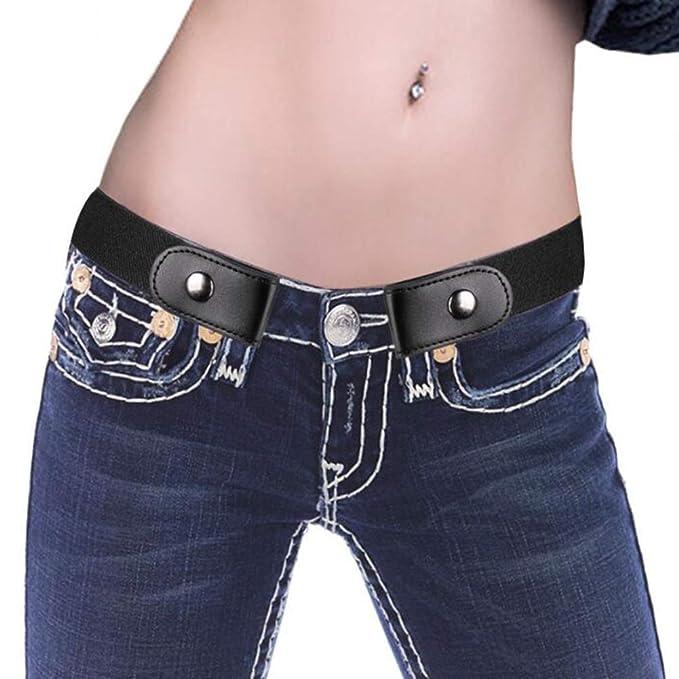 Amazon.com: ALAIX - Cinturón elástico sin hebilla para ...