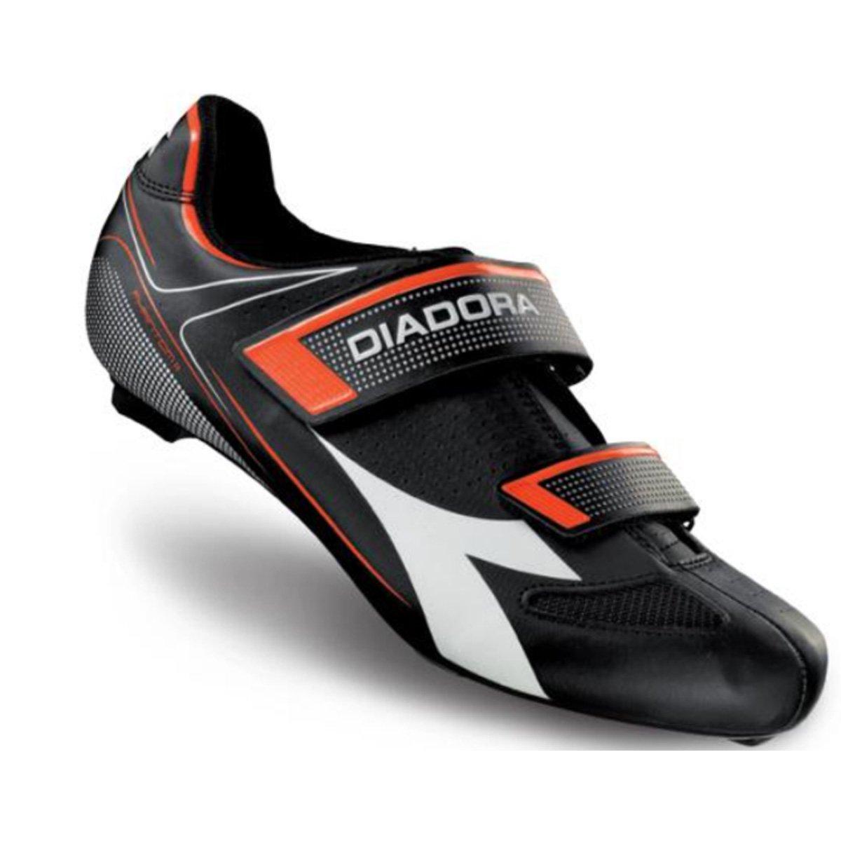 Diadora Men 's Phantom IIロードサイクリング靴 – 170220-c4114 48 ブラック B01NAE9Z56