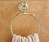 HYP-European gold ceramic towel sanitation hair