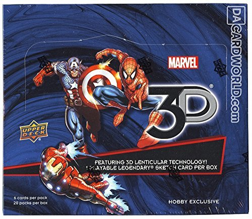 Marvel 3D Hobby Box (Upper Deck 2014) (2014 Box Upper Deck)