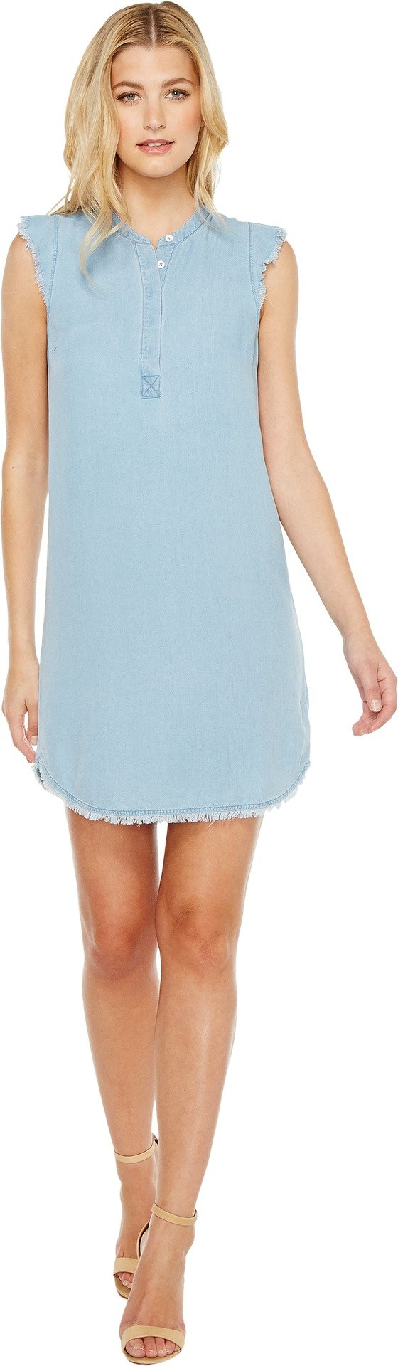 Splendid Women's Henley Dress Light Wash Dress