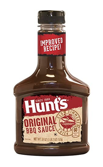 Hunts Original BBQ Sauce 18 Ounce Bottle