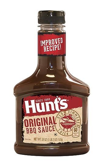 Hunts Original BBQ Sauce 18 Ounce Bottle