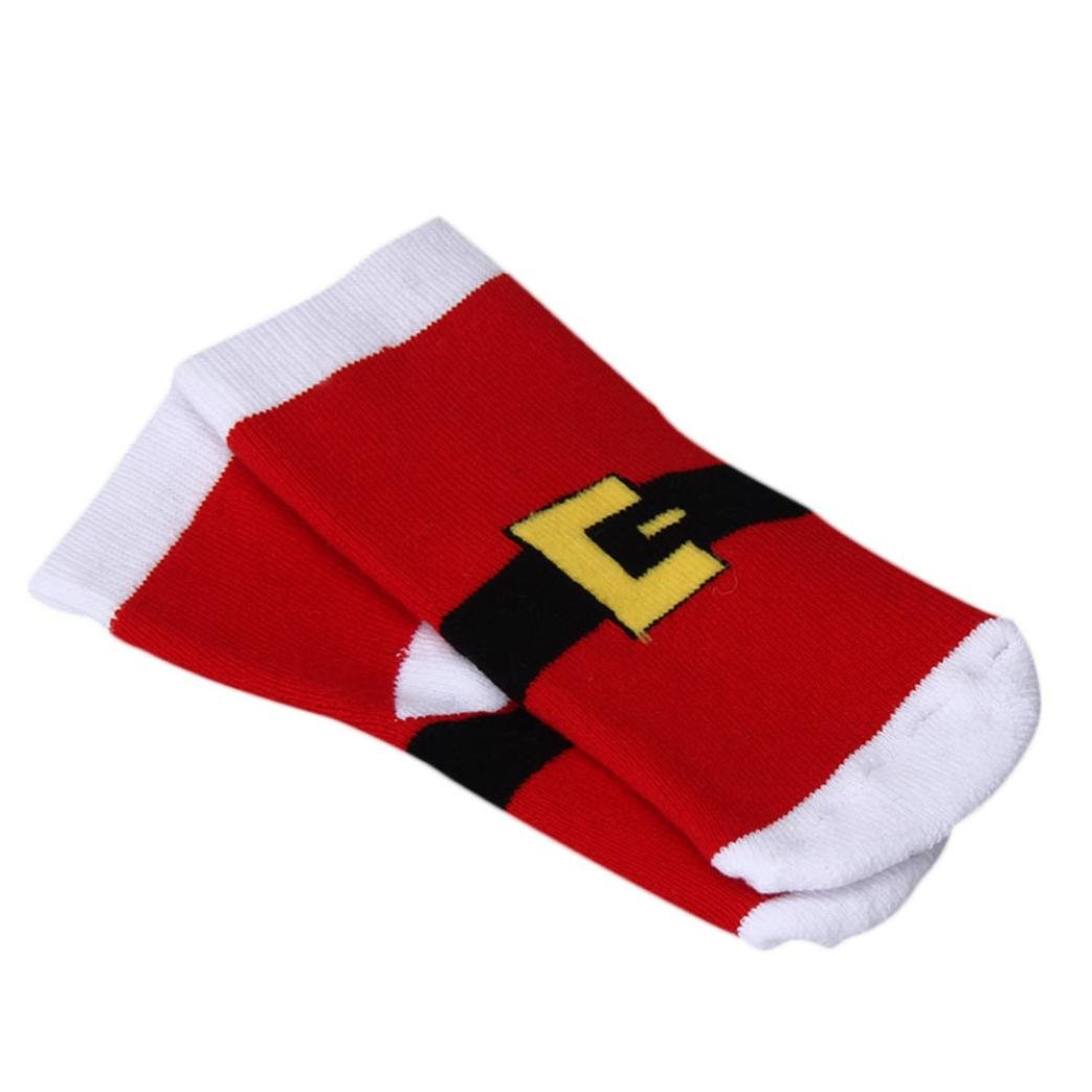 Coromose 2018 Fasion Newborn Baby Socks Christmas Stocking