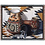 Pure Country Inc. Kokopelli Pot Blanket Tapestry Throw