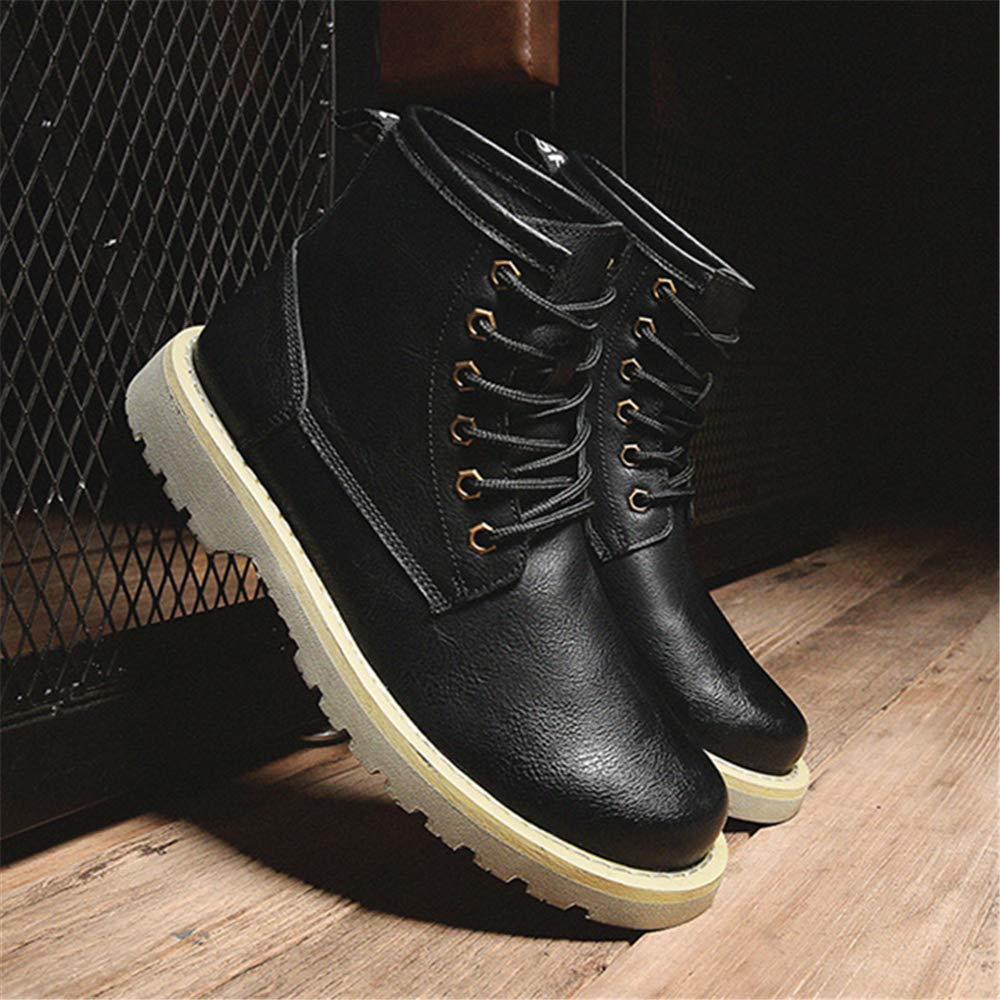 Mens Boots Motorcycle Combat Boots Shoes Safety Work Boots Martin Boots