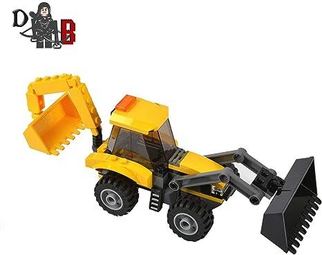 LEGO Custom City Backhoe Loader JCB digger: Amazon.co.uk ...