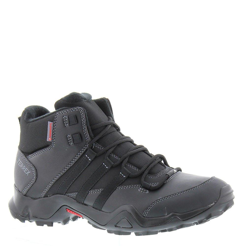 adidas Outdoor Men's Terrex AX2R Beta Mid CW Walking Shoe, Black/Black/Energy, 13 D US