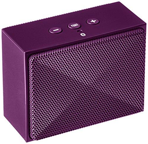 AmazonBasics BTV2 Micro Wireless Bluetooth Speaker (Purple)