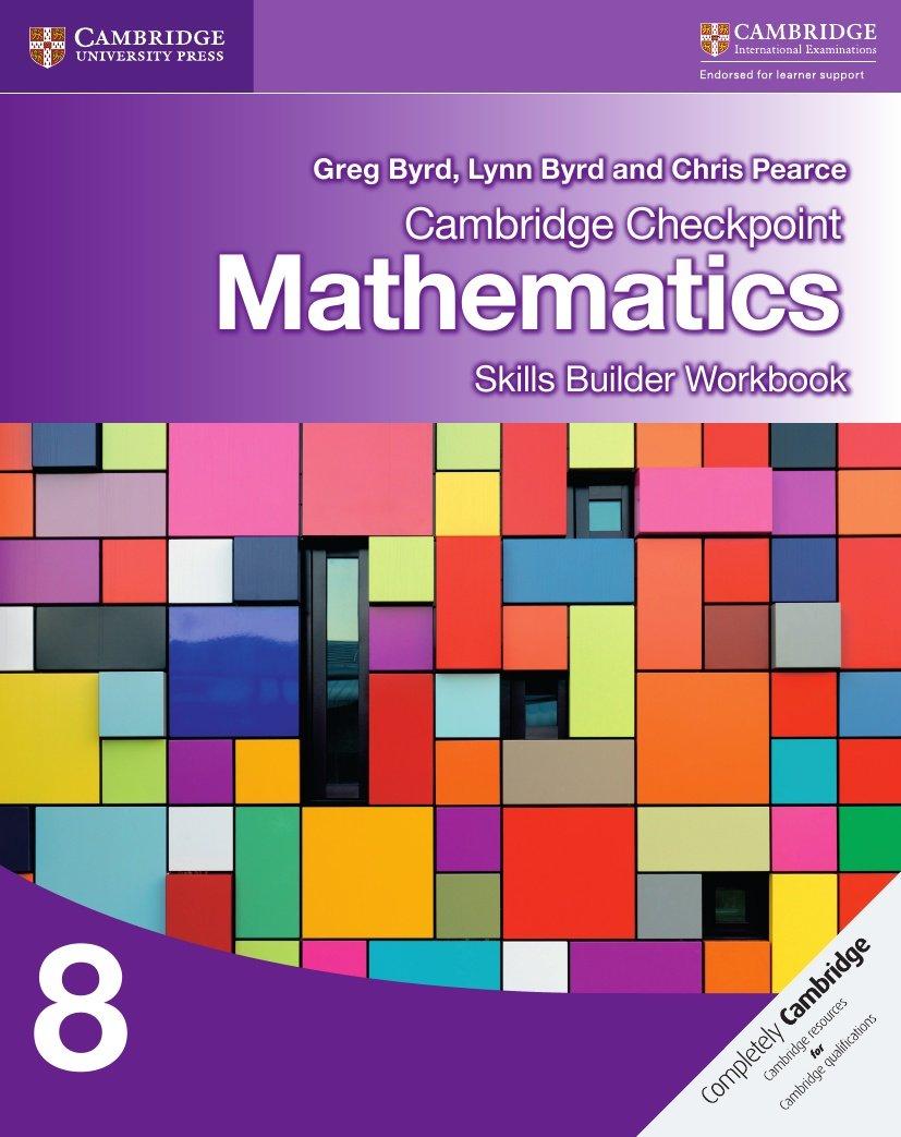 Cambridge Checkpoint Mathematics Skills Builder Workbook 8 pdf epub
