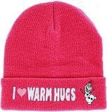 Frozen Olaf I love warm hugs Beanie