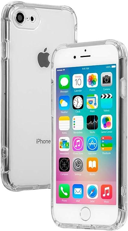 Amazon.co.jp: 【21SPEC】 iphone8 ケース [クリア 耐衝撃 ハード ...