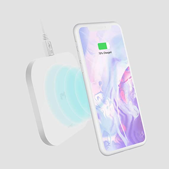 premium selection abdf5 7998e MYNT Wireless Charging Pad | 7.5W Wireless Charging Pad Compatible iPhone  Xs/XS Max/XR/X/8/8 Plus | 10W Compatible Samsung Galaxy S9/S8/Note 9