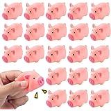 Snorting cochon à presser jouet-TY5557 Noisy Toy Cochon Mignon Rose Squeeze Oink Farm
