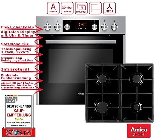 Amica EHEG 934 111 E sets de electrodoméstico de cocina Encimera ...