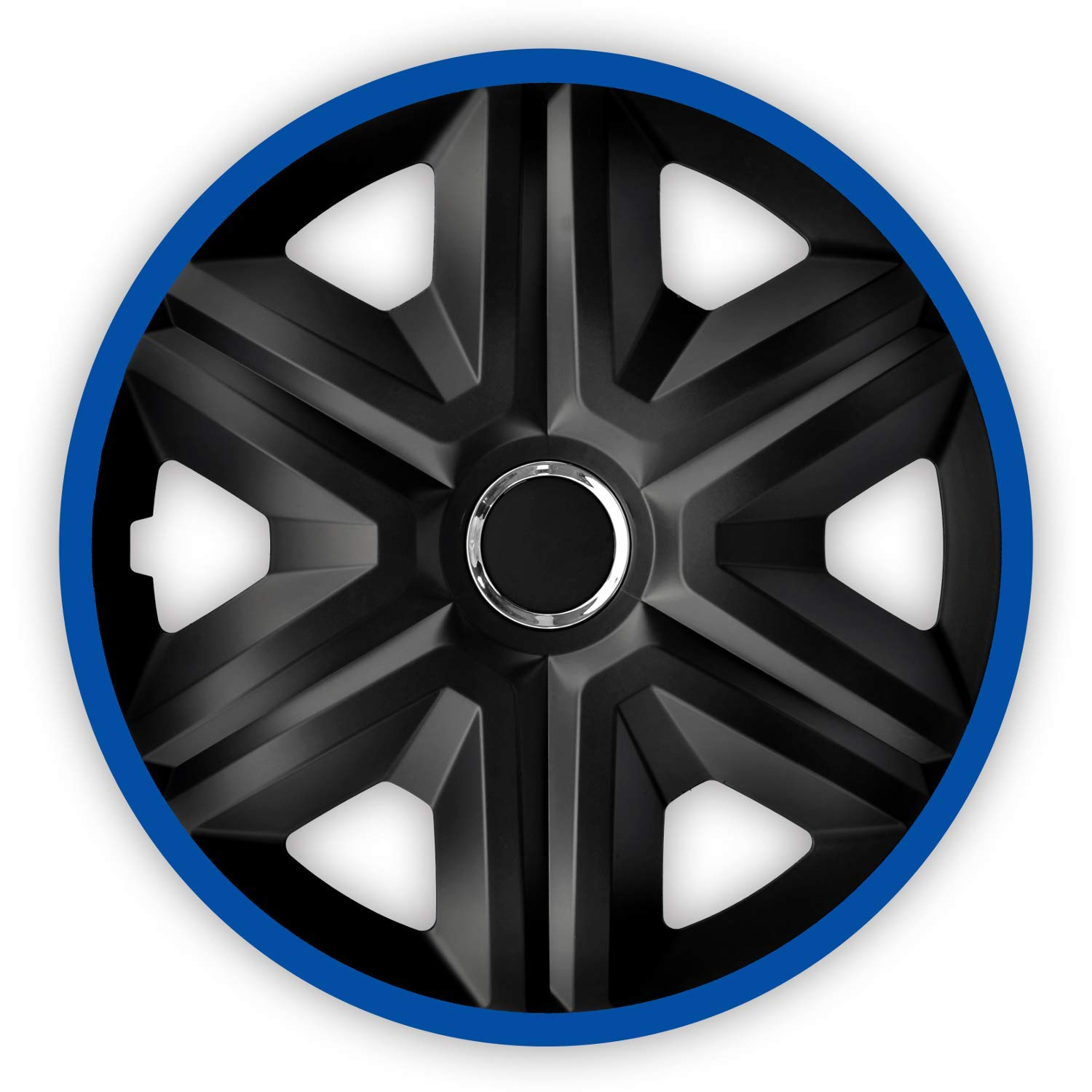 FAST LUX//ACTION 15 Inch Set Of 4 Luckyberg Wheel Trims Universal Fit For Cars And Other Vehicles