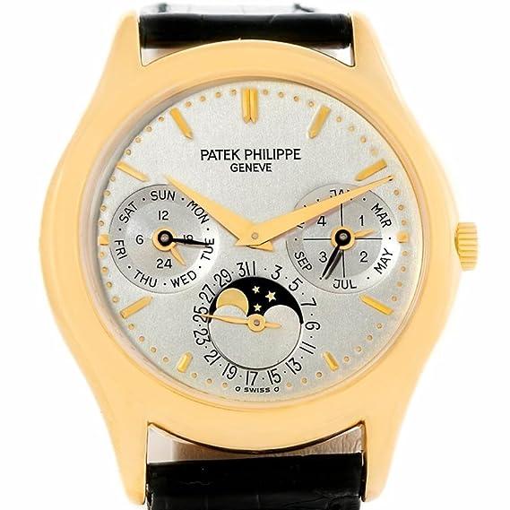 PATEK PHILIPPE complicaciones automatic-self-wind Mens Reloj 3940 (Certificado) de segunda mano: Patek Philippe: Amazon.es: Relojes