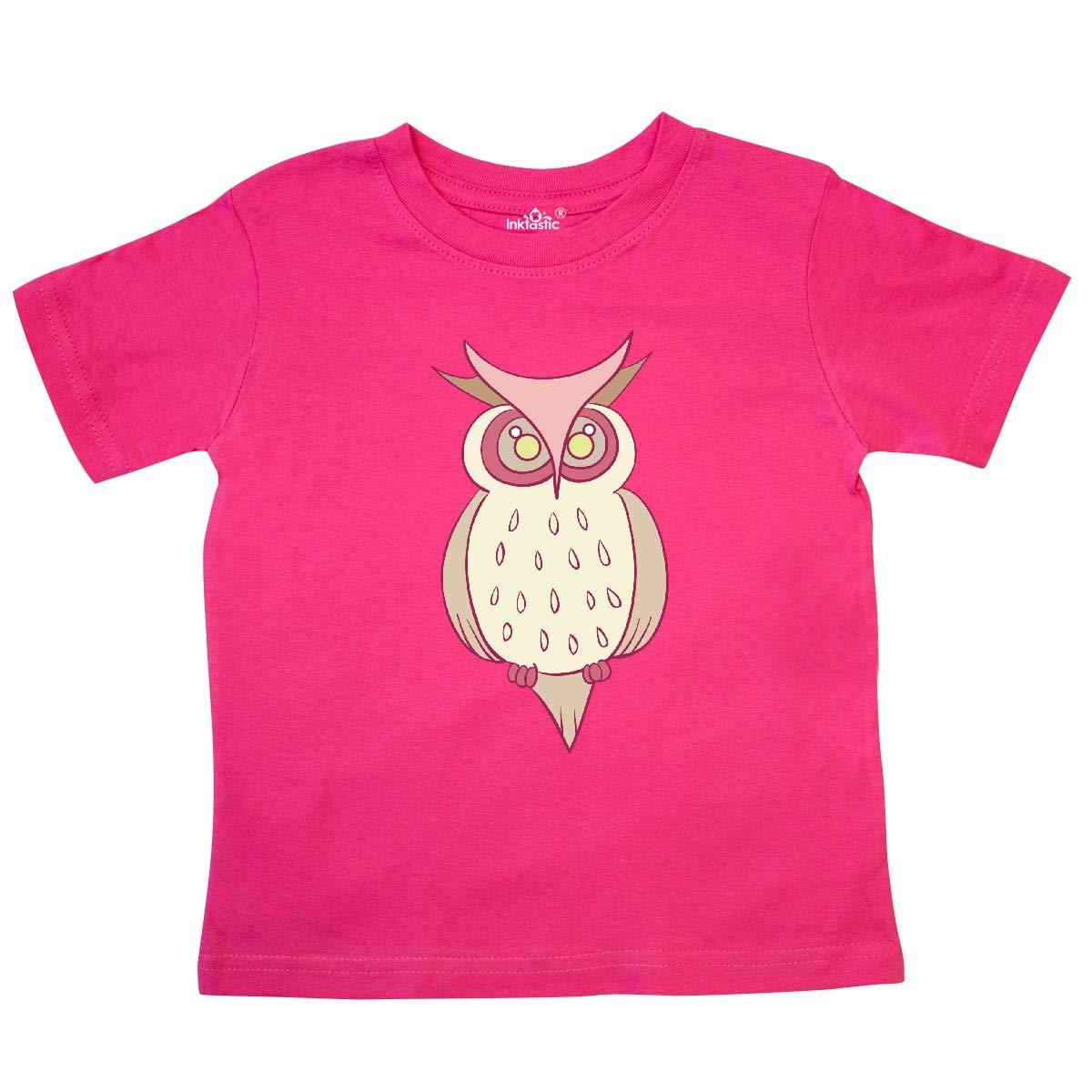 inktastic Owl Toddler T-Shirt