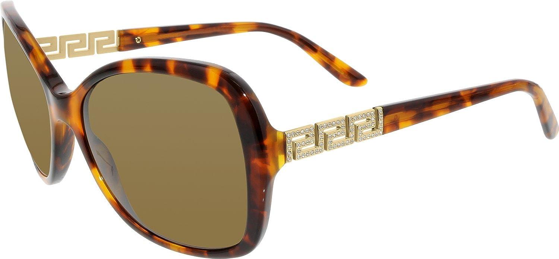 4506bb6320c1 Versace 4271B 507473 Tortoise 4271B Treasure Greca Butterfly Sunglasses  Lens Ca: Amazon.co.uk: Clothing