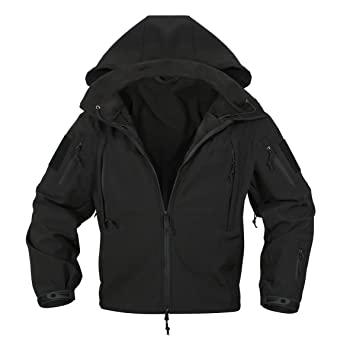 Rothco® Special Ops Negro táctico Soft Shell Chaqueta, Negro, XX-Large: Amazon.es: Deportes y aire libre