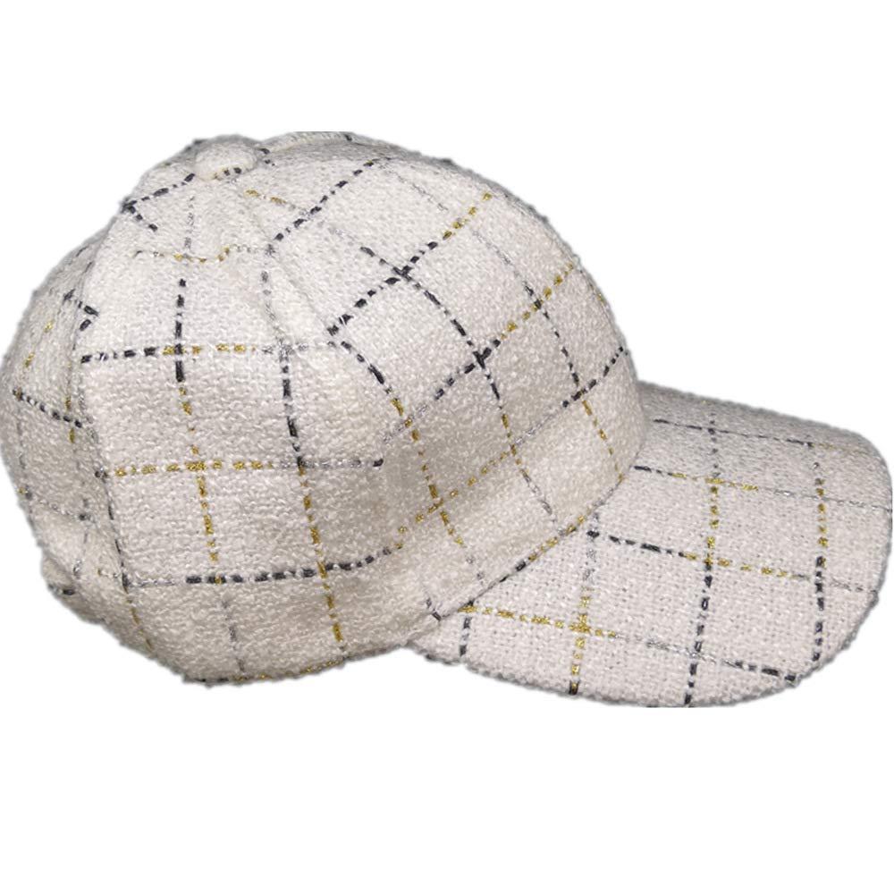 Gorra de béisbol de Punto escocés pequeña Fragancia Blanca Talla ...