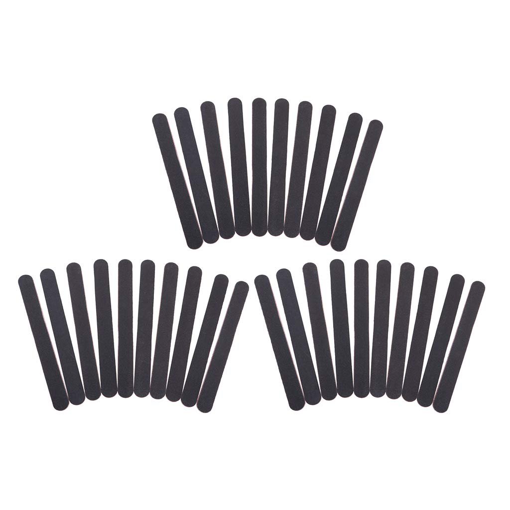 SM SunniMix 30 STK. Nagelfeile Sandblattfeilen Sandfeile Streifen für Nagel, Holzmodell usw