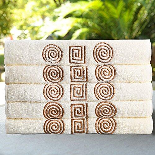 1pcs-lot-towel-100-cotton-3050-cm-face-hair-hand-embroidery-towels-facecloth-satin-woven-plain