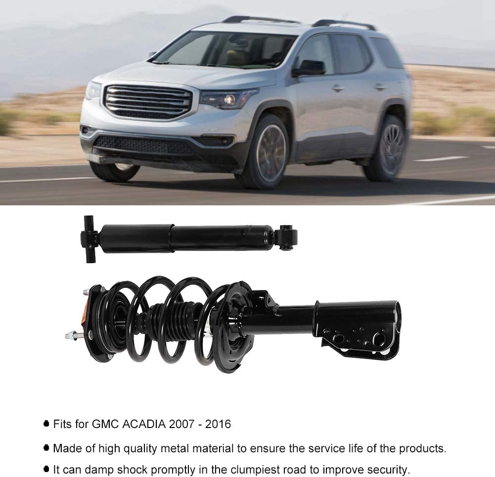 172518 4349125 Front Quick Struts and Springs w/Rear Shock ...
