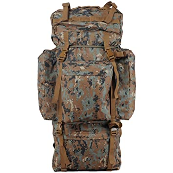 aofit 100L gran capacidad mochila Militar ejército combate táctico mochila senderismo mochila deportes al aire libre ...