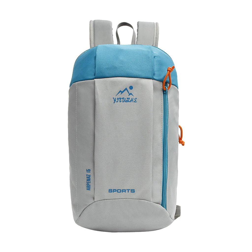c765bb37fc MagiDeal 15L Kids Adults Mini Small Waterproof Backpack Casual Travel  Hiking Daypack (7 Colors) - Blue Gray  Amazon.ca  Sports   Outdoors