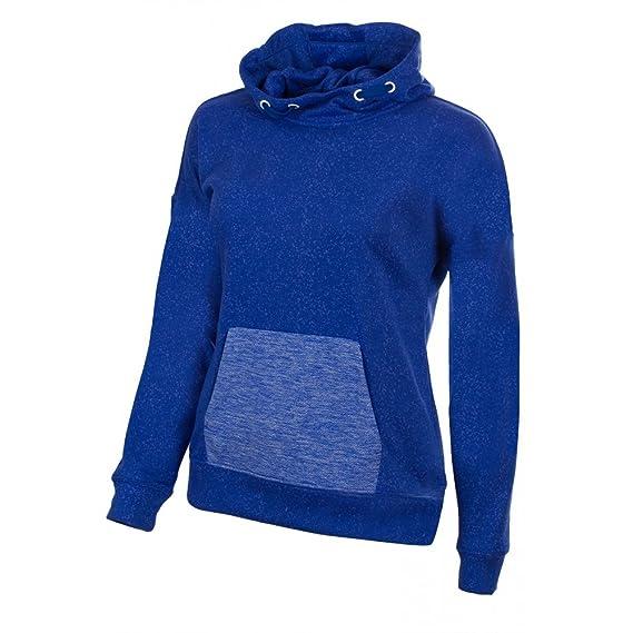Asics Sweat à capuche Femme Bleu bleu X Small: