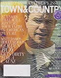 Town & Country June/July 2016 Matt Damon: Hollywood's Golden Boy Gets Dirty for a Cause
