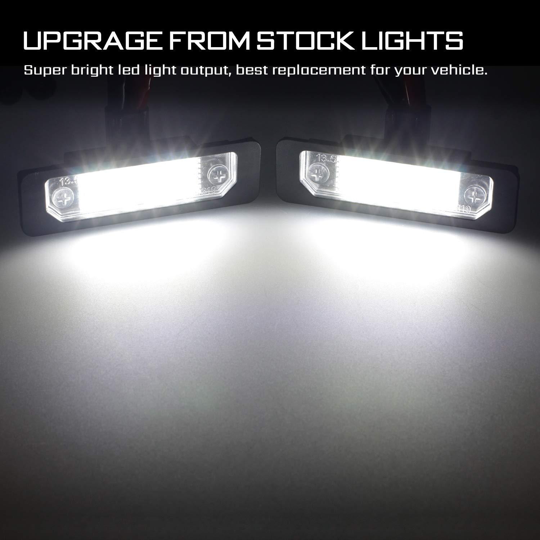 Amazon.com: RUXIFEY - Bombillas LED para matrícula ...