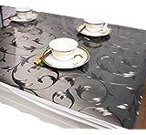 shopdp 北欧 復古木目調 テーブルクロス 綿麻 生地 吸水 耐熱 長方形