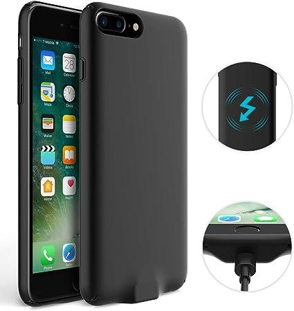 Amazon.com: Donwell - Funda para iPhone 7 Plus, cargador ...