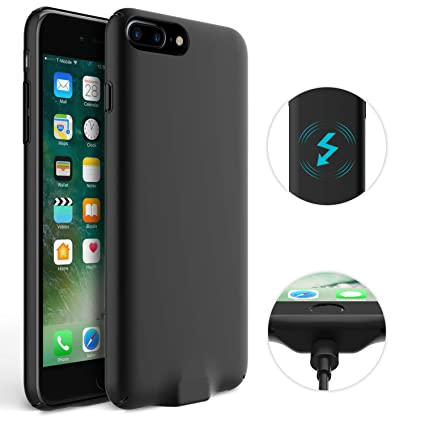 Amazon.com: Donwell - Funda para iPhone 7 Plus, cargador ...