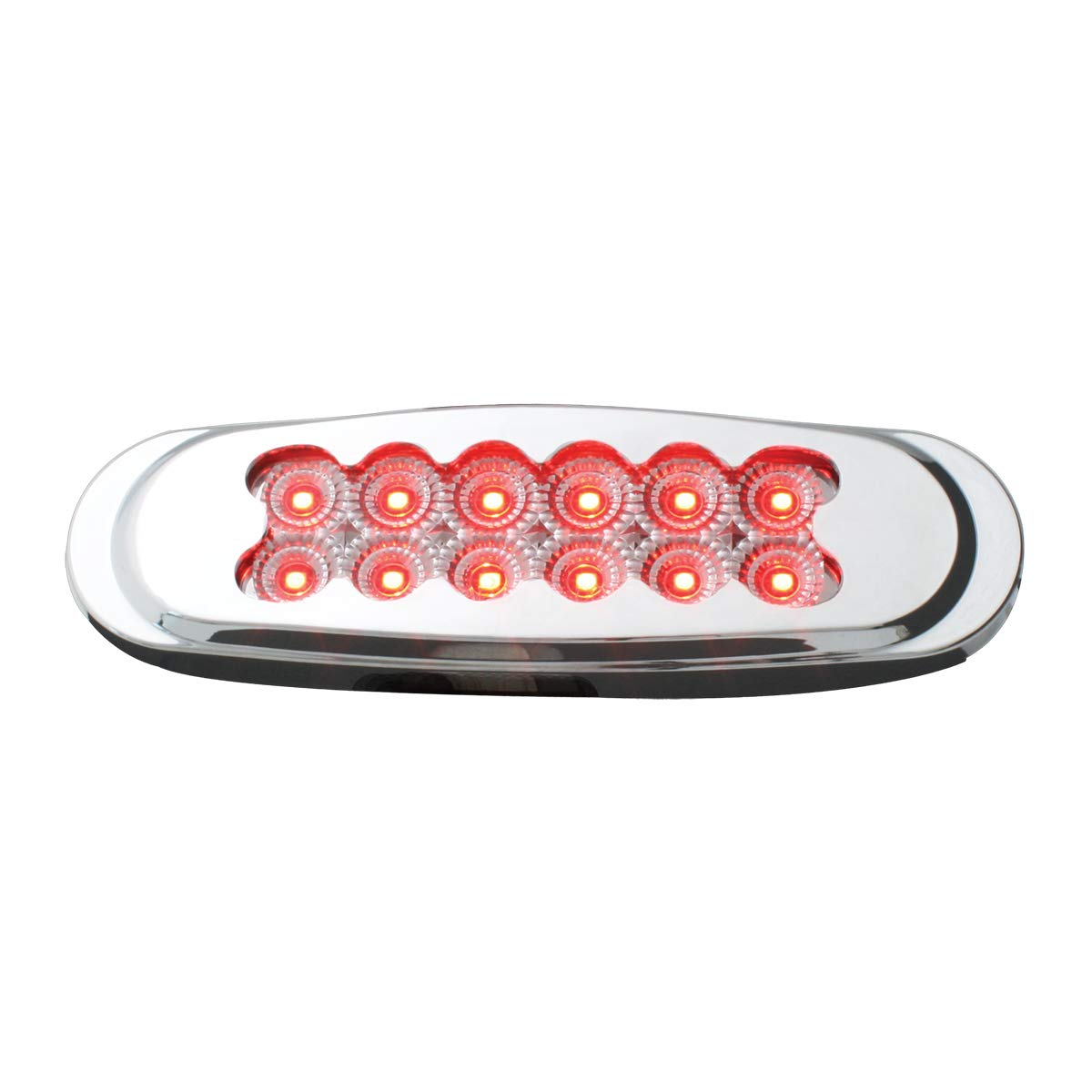 GG Grand General 76708 Light Ultra Thin Matrix Style Red//Cl Spyder 12LED Dual Funt.