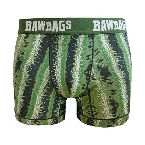 Bawbags Cool De Sac Pricks Boxer Shorts - White -XL