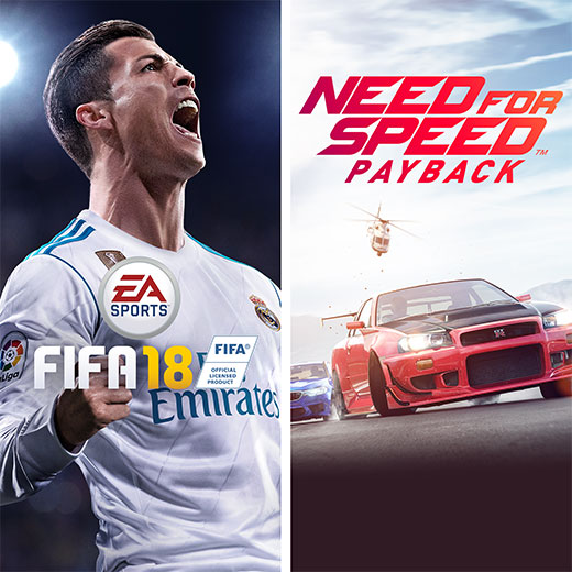 FIFA 18 - Need for Speed Payback Bundle [Online Game Code]